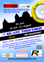Flyer Skate Together 2014